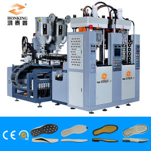 2 Station 2 Color TPU/ Tr /PVC Sole Machine pictures & photos
