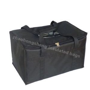 Extra Large Widely Used Custom Printed Insulated Hot Food Carry Packaging Delivery Cooler Bag