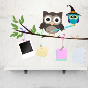 China Removable Home Decoration Nursery Decor Cute Cartoon Owl