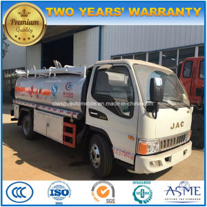 Fuel Truck Wheels >> China Jac 6 Wheels Plane Refuler Truck 5000l Fuel Bowser Tank Truck