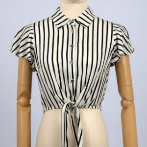 0b842f4dac4aeb Designer Western Tops Images of Ladies Blouses and Tops Black White Stripes  Ladies Tops Images