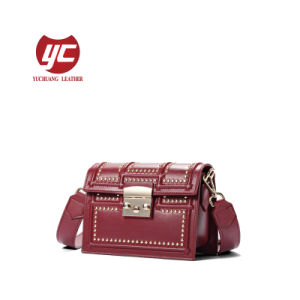 ae586e86bf41 China Handbag Manufacture Stud Crossbody Bag - China Crossbody Bag ...