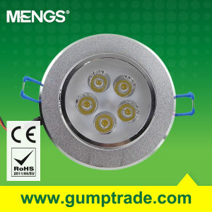 Mengs® 5W LED Downlight LED Light with CE RoHS 2 Years′ Warranty (110300002)