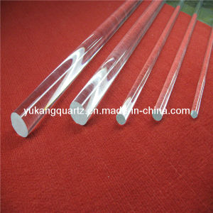 Clear Quartz Rod for Solar or Semiconductor pictures & photos
