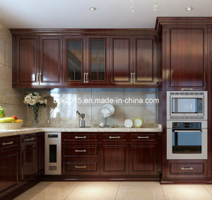 American Sytle Frame Wood Door Kitchen Cabinet