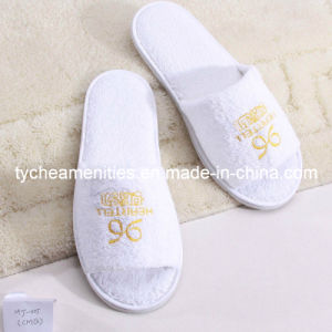 Disposable Hotel Slipper/Factory Price White Disposable Hotel Slipper
