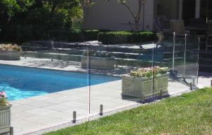 Good Quality Tempered Glass Pool Fence Panels Frameless Glass Railing