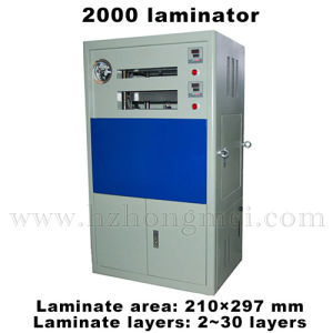 Machine China Plastic Laminator - Laminator A4 For Pvc Lamination Fusing Fa2000 Press Id Making Ic Cards