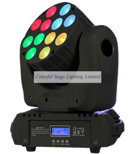 New 12X10W CREE Mini 4in1 LED Beam Moving Head (C-M012A)