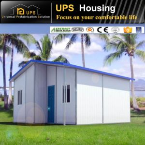 Excellent Fireproof Steel Structural Prefab Villa Easy Unloading House pictures & photos