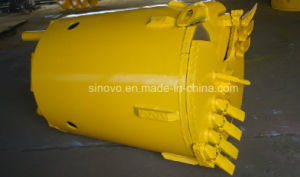 Bauer Standard Rotary Drilling Rig Tools Accessories Clay Bucket machine tool pictures & photos