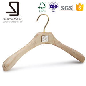 Wooden Clothes Hanger, Clolor Washed Pure White Hanger pictures & photos
