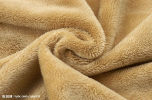 Comfortable Solid Colour Fleece Blanket