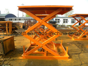 Hot Sale 3t Hydraulic Goods Lift for Warehouse pictures & photos