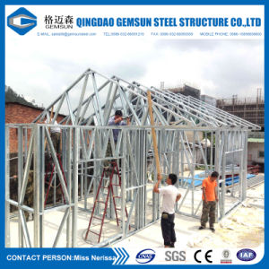 Quick Assembled Light Gauge Steel Framing Villas pictures & photos