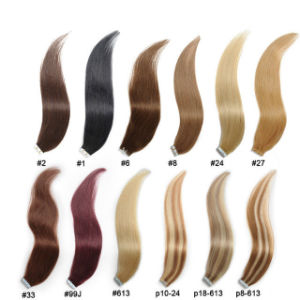 Premium Quality Human Hair Tape Hair Extensions