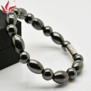 Classic Design Magnetic Hematite Beads Bracelet Healing Men′s Bracelet Wholesale