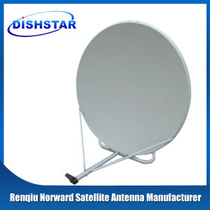 Ku Band 90cm Satellite Dish Antenna with Ground Mount Base