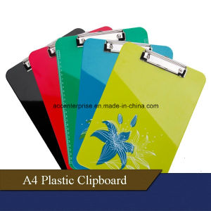 A4, A5, A6, FC Plastic Clipboard pictures & photos