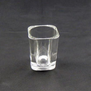 2oz Square Shot Glass (Logo Printing Available)