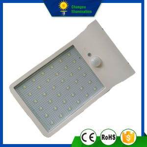 4W LED Sensor Solar Ultra-Thin Wall Lamp