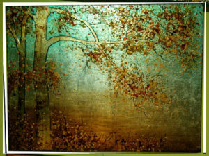 Wall Decor Landscape Tree Oil Painting on Canvas (LH-036000) pictures & photos