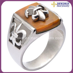 Double Layer Punk Style Ring Anchor Rings 2013