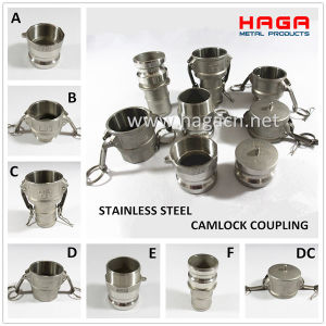Groove Joint Coupling Stainless Steel Camlock Fitting pictures & photos