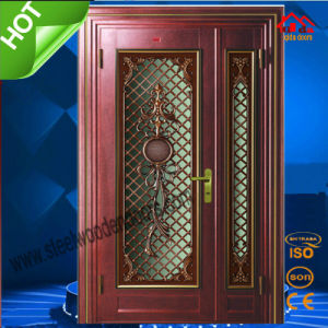 CE Soncap Approved Exterior Steel Entry Door