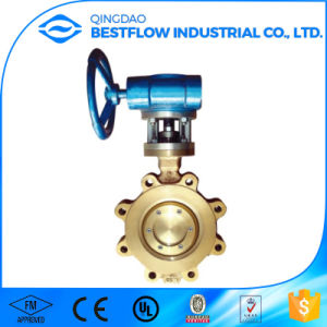 Aluminum Bronze Lug Type Butterfly Valve pictures & photos