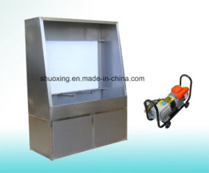 Screen Printing Washer, Screen Washout Booth with Back Light and Water Jet pictures & photos