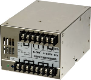 500W Single Phase Output Switching Power Supply with CE (S-500W) pictures & photos
