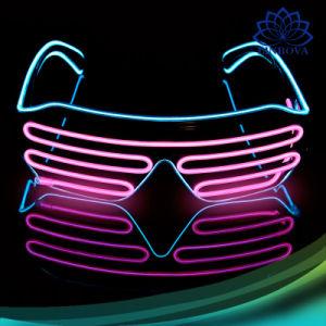 Blinking Led Shutter Shade Light Up Glasses Glow Flash Rave Party Club nightclub