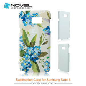 Customized 3D Sublimation Cell Phone Cases for Samsung Galaxy Note 5