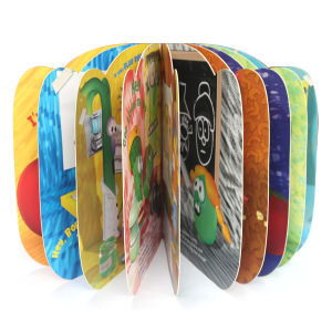 Colorful Die-Cutting Cartoon Cardboard Book Printing pictures & photos