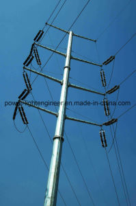 Electricity Power Galvanization Pole