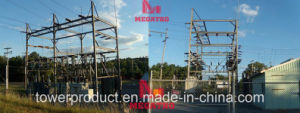 Megatro 69kv Bus Substation Steel Supports (MGS-BSS69) pictures & photos
