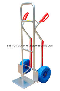 High Quality Heavy-Duty Aluminium Hand Cart Truck Trolley (TC2106) pictures & photos