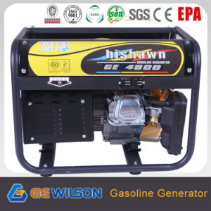 Powertec 4-Stroke 3.3kw Digital Gasoline pictures & photos
