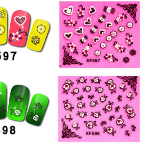 Manufactory 3D Nail Art Sticker Decoration pictures & photos