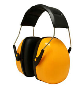 Orange Color Sounds Avoiding Safety Headband Earmuff Ce AS/NZS Certificated