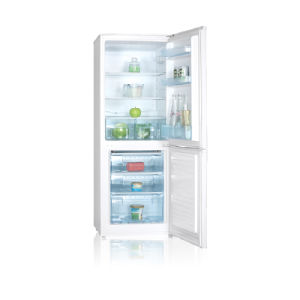 141L Fridge and 66L Freezer Double Door Refrigerator
