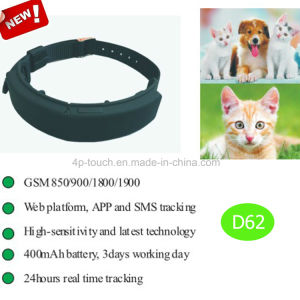New Hot Selling Pet GPS Tracking Device with Geo-Fencing D62 pictures & photos