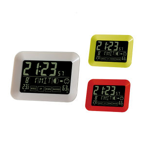 Hot Sale Full Function with Touch Screen Date and Time Dis Play LCD Clock pictures & photos