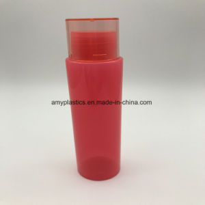 100 Ml Pet Material Plastic Packaging Round Bottle for Cosmetics pictures & photos