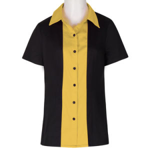 China New Style Office Uniform Shirts Designs For Women Work Ladies