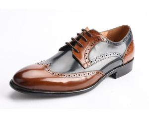 e1007760d797a OEM Italy Custom Hand Made Brogue Oxford Leather Formal Men Shoes 2017