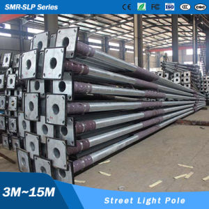 Hot Galvanized 6m 8m 9m 10m 12m 15m Solar Street Lighting Pole