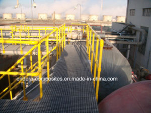 FRP/GRP Handrail, FRP Profiles/ Fiberglass Square Tube, Pultrusion Profiles pictures & photos
