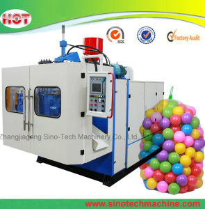 Soft Hollow LDPE Children Toy Plastic Ball Extrusion Blowing Mold Making Machine pictures & photos
